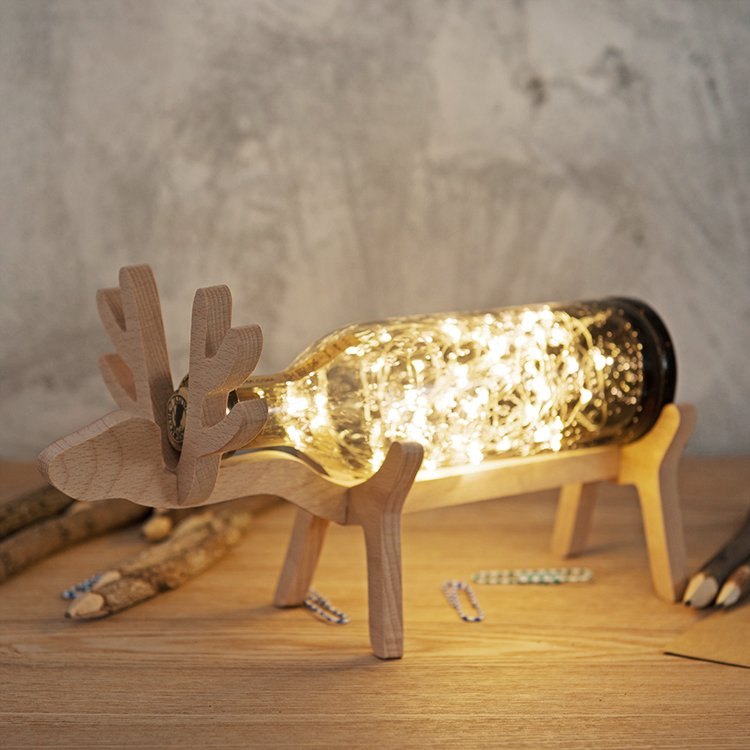 Deer LED Bottle